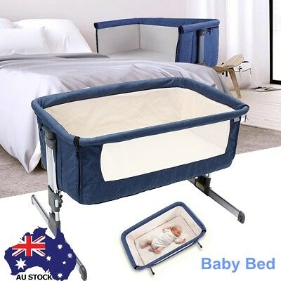 Baby Cribs Bassinet Beside Childcare Cosy Time Cradle Sleeper Cot Bed Toddler AU