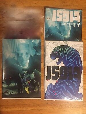 Isola #2 Covers A, B and Virgin NM