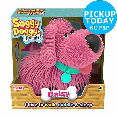 Ideal Interactive Soggy Doggy Friends - Pink Daisy 4+ Years