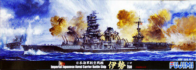 Fujimi TOKU-39 IJN Carrier Battleship ISE 1/700 scale kit AKS