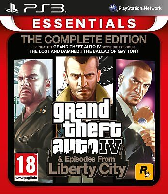 Grand Theft Auto IV - Complete Edition For PAL PS3 (New & Sealed)