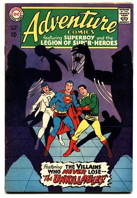 Adventure Comics #361 1967 DC Silver Age- Legion of Super Heroes FN
