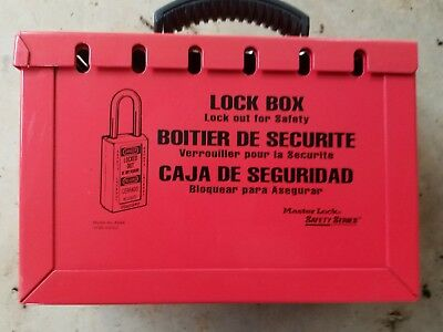 Master Lock 498A Group Lockout Box LOTO NIB Lock Out Tag Out