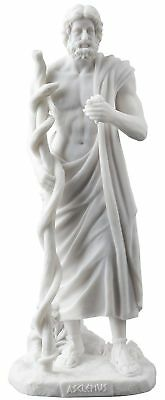 Asclepius Greek God Of Medicine Figurine Statue Sculpture *BEAUTIFUL! *MUST SEE!