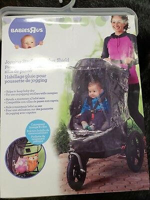 Babies R Us Jogging Stroller Weather Shield New Clear