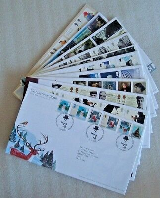 GB 2006 First Day Covers Multiple Listing
