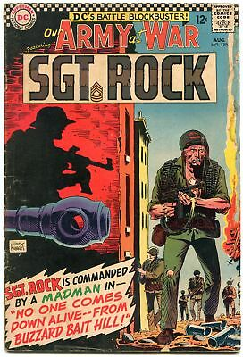 Our Army At War #170 1966-D.c. War Silver-Age-Sgt. Rock- G/vg
