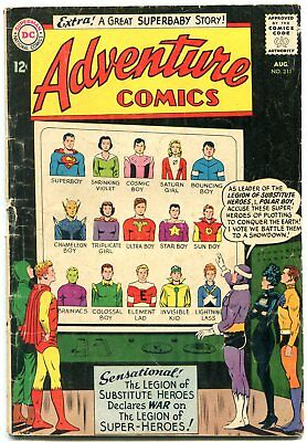 Adventure Comics #311 1963-DC COMICS-SUPERBOY-Legion of Super-heroes G