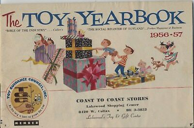 The Toy Yearbook -1956-57 -- Dolls Trains Trucks Games Plush Building Bikes ++