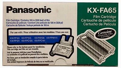 Oem Panasonic Kx-Fa65 Fax Film Cartridge