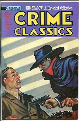 "Crime Classics #3 1988-Eternity-reprints 1940's ""Shadow: newspaper strips-VF-"