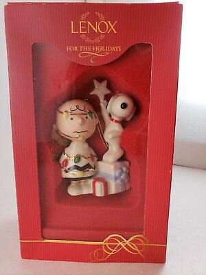 Lenox YOU'RE A CHRISTMAS TREE CHARLIE BROWN Ornament - Peanuts Snoopy FREE SHIP