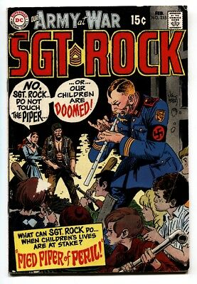 OUR ARMY AT WAR #215-SGT. ROCK-DC-WWII vg