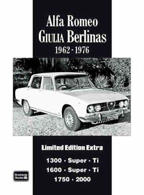 Alfa Romeo Giulia Berlinas Limited Edition Extra A Collection o... 9781855207714