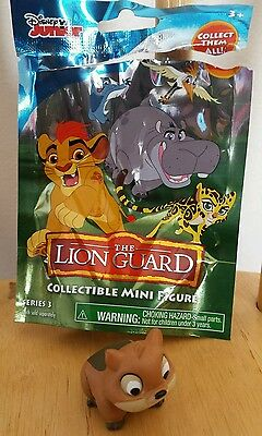 THE LION GUARD ~ HYRAX ~ mini blind bag figure 2016 Disney Jr. Series 3
