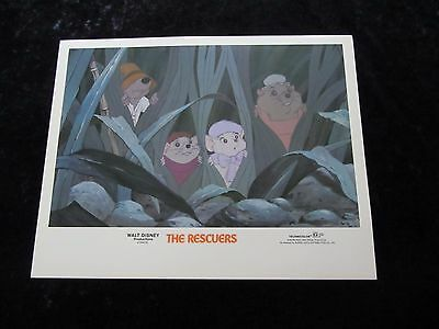 Walt Disney's The Rescuers  # 1 - lobby card - Original (1983)