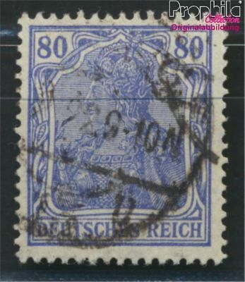 German Empire 149II B proofed fine used / cancelled 1920 Germania (8984314