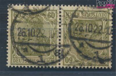 German Empire K4 proofed fine used / cancelled 1921 Germania (7451393