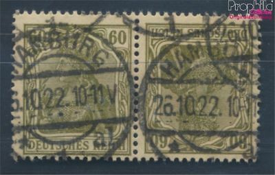 German Empire K4 proofed fine used / cancelled 1921 Germania (8111728
