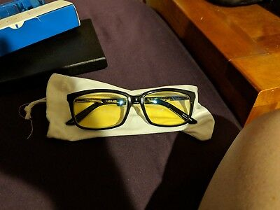 Gunnar Optics Optiks Haus Onyx MINT CONDITION Black with Zeiss Lenses