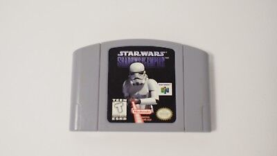 Star Wars: Shadows of the Empire (Nintendo 64, 1996) Excellent Condition.