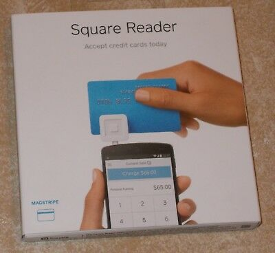 Square Credit Card Reader for iPhone, iPad and Android New Sealed