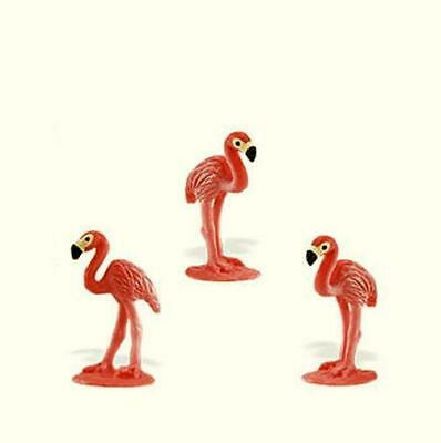 Doll House Shoppe Toy Pink Flamingo Set/3  SL344822 Micro-mini Miniature