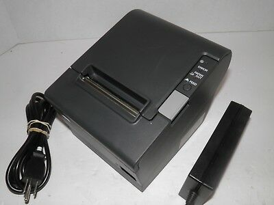 Epson M129H TM-T88IV Thermal POS Receipt Printer USB Printer w Power Supply