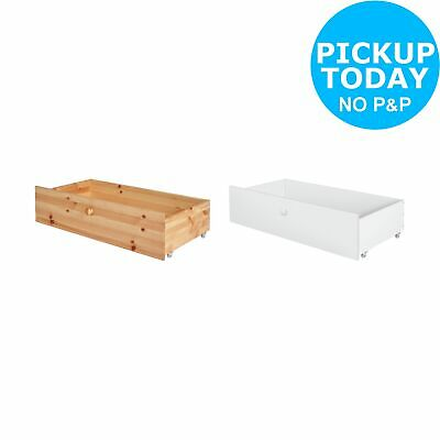 Argos Home Kaycie 2 Underbed Drawers - Choice of Pine / White
