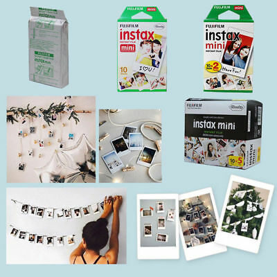 AU 50PCS Fujifilm Instax Mini Film Fuji instant photos 7s 8 25 90 Polaroid 300