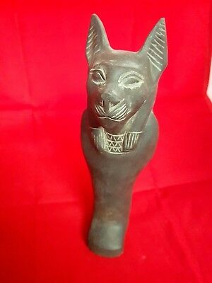 Egyptian Ancient Ushabti Of Goddes Sekhmet Statue - Ancient Art & Antiquities