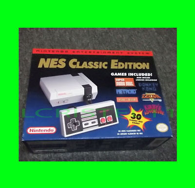 NEW - Nintendo NES Classic Edition Mini 30 GAMES System Console - FAST SHIPPING!