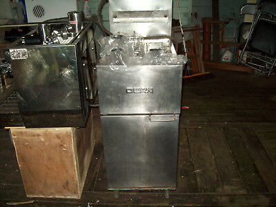 DEAN Deep Fryer LP Gas 2 Basket Stainless tank