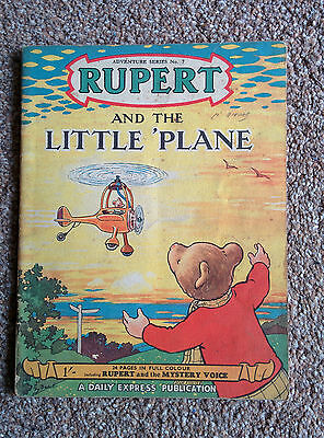 Rupert And The Little Plane - Adventure Series No. 7 (1950)