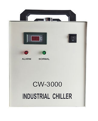 S&A Genuine CW-3000DG 110V Water Chiller Cool 50W 60W 80W CO2 Laser Tube US Ship