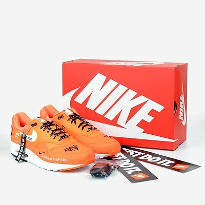 5bc3e2141a50 NIKE AIR MAX 1 SE Total Orange Just Do It Collection Men s AO1021 ...