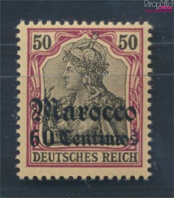 Dt. Post Marokko 28 neuf 1905 Germania-Aufdruck (8194867