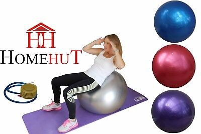 Exercise Gym Yoga Swiss Ball Fitness Pregnancy Birthing Anti Burst Balls 65 cm