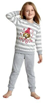 Long Sleeves Kids Girls' Pyjama Set Nightwear Sleepwear by Cornette 3-6 years