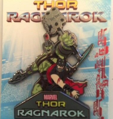 Disney Marvel Thor Ragnarok - Hulk & Thor Limited Edition Pin New 2017