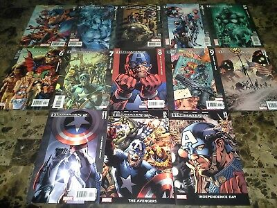 Ultimates 2 1-13 1 2 3 4 5 6 7 8 9 10 11 12 13 Annual NM to VF/NM 9.4 Complete