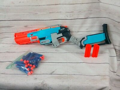 Nerf Zombie Strike Sledgefire Blaster Dart w/ 2 Shells Replacement Darts
