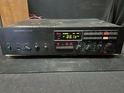 Proton D940 stereo receiver with dynamic power on demand, tested good working
