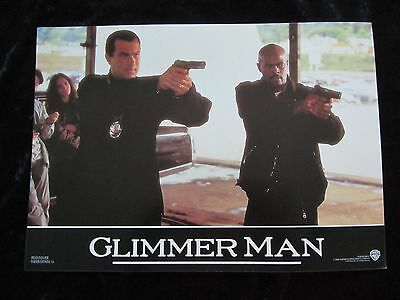 THE GLIMMER MAN lobby cards STEVEN SEAGAL, KEENON IVORY WAYANS