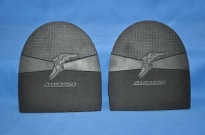 "Goodyear Assurance Top Quality Mens Shoe Repair Rubber Heels- 1/4"" Thickness"