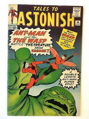 TALES TO ASTONISH #44 BEAUTIFUL HIGHER GRADE 1st app of The Wasp CGC it!! Copy A
