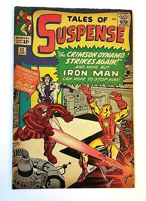 TALES OF SUSPENSE #52 BEAUTIFUL NO RESTORATION 1ST Black Widow CGC it!! 1964