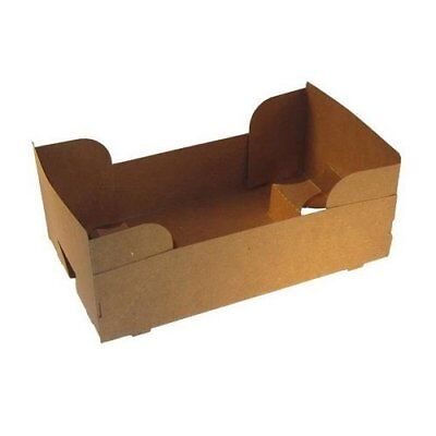 Paperboard 4 Corner Pop Up Food and Drink Stadium/Theater J-Type Tray by MT