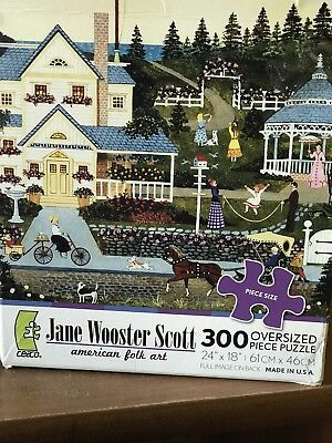 Jane Wooster Scott american folk art A GENTLE PACE 300 Complete COLLECTIBLE