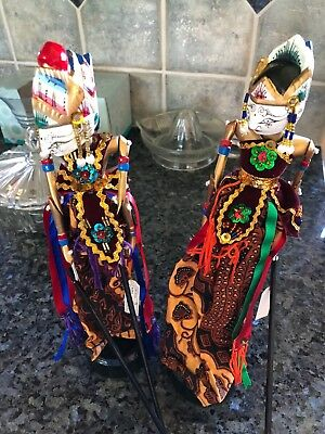 Indonesian Puppets Man and Women
